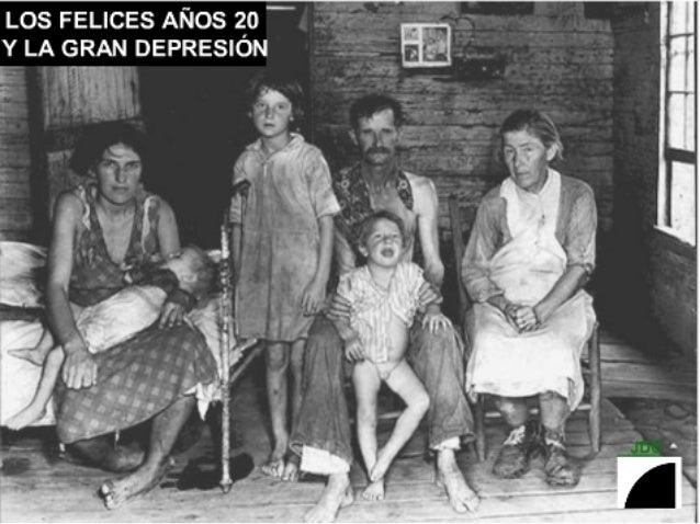 """LOS FELICES AÑOS 2_o ' -- Y LA GRAN DEPRESION (¡c!   > 0 4; .  _ '[5 ' ,  'Í x ' W.   x.  I K un.  ' w o N"""" — n ' . . x  '..."""