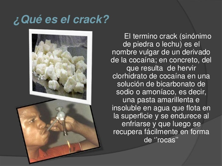 Crack (droga)