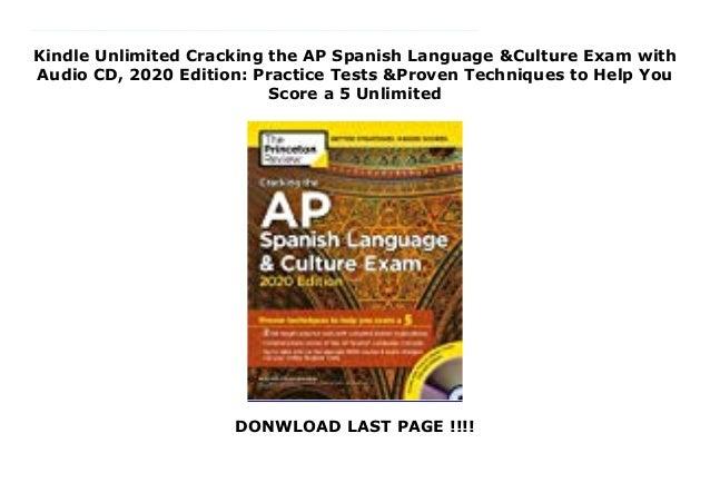 ap spanish test date 2020