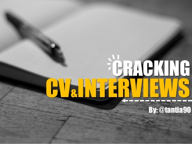 CV&INTERVIEWS CRACKING By: @tantia90