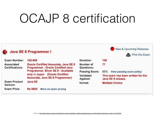 Cracking OCA and OCP Java 8 Exams