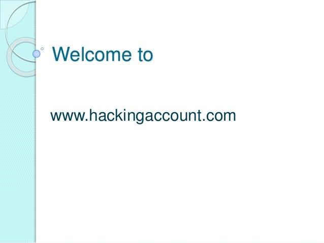 Welcome to www.hackingaccount.com