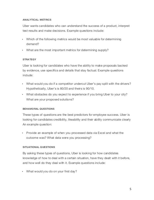 Uber Interview Questions and Process: How to Pass Easily