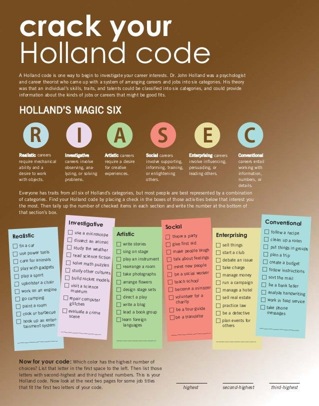 crack your holland code