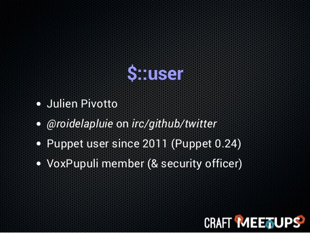 Do you know all of Puppet? Slide 2