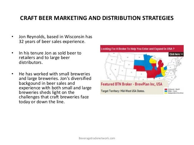 marketing plan for shandy beer Marketing strategy is defined by david aaker as a process that can allow an organization to concentrate its resources on the optimal opportunities with the goals of increasing sales and achieving a sustainable competitive advantage.