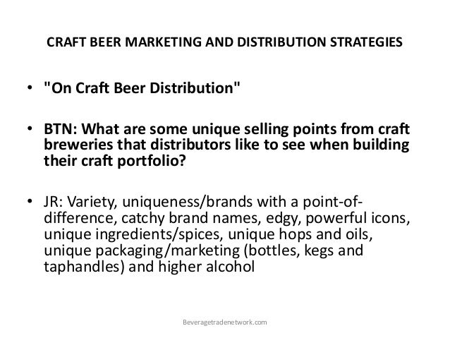 craft beer marketing strategies