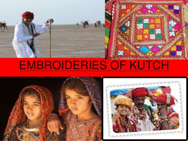 EMBROIDERIES OF KUTCH