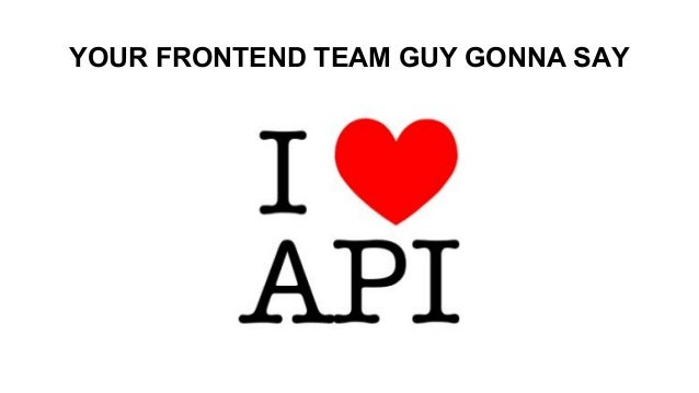 YOUR FRONTEND TEAM GUY GONNA SAY