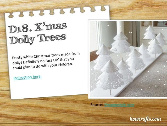 20 Simple Christmas Craft projects for the family!