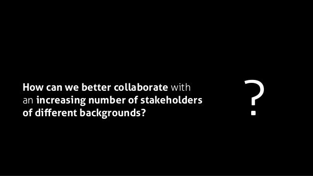 Endless advice on how to collaborate