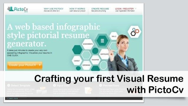 Crafting your first Visual Resume with PictoCv