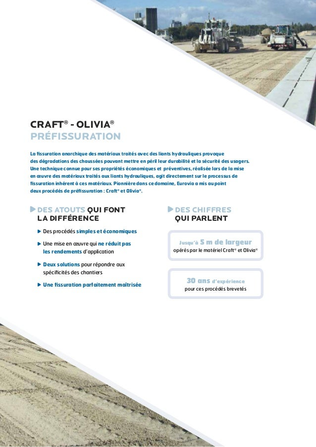 Craft® - Olivia® - Deux procédés, une même efficacité Slide 2