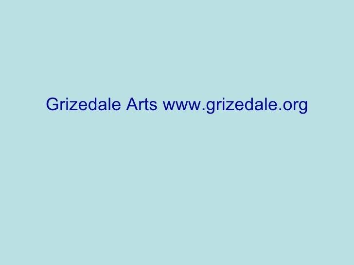 Grizedale Arts www.grizedale.org