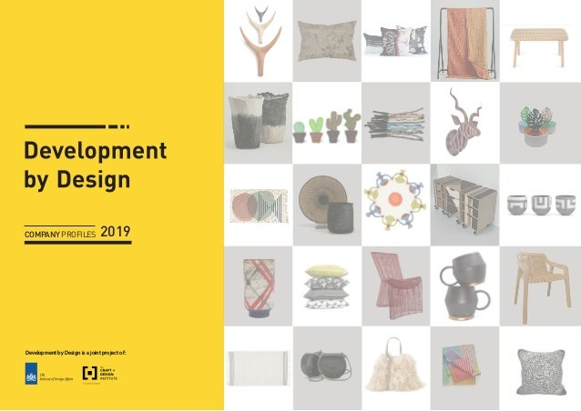 Development by Design is a joint project of: COMPANYPROFILES 2019