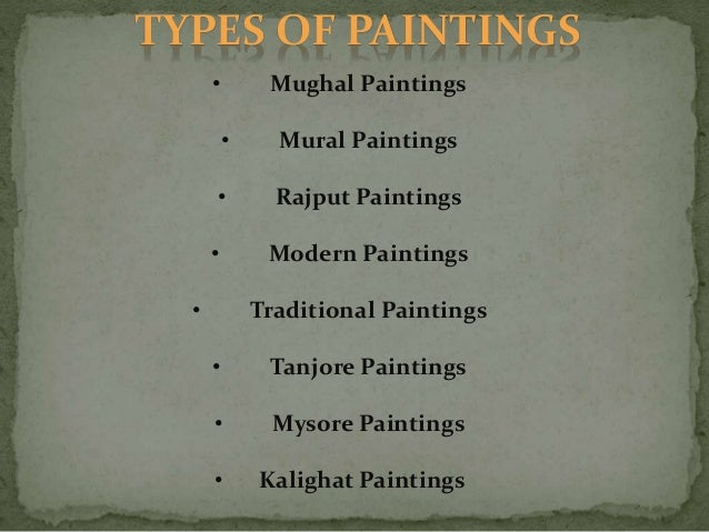 Craftsmanship types of indian paintings for What are the different types of painting techniques