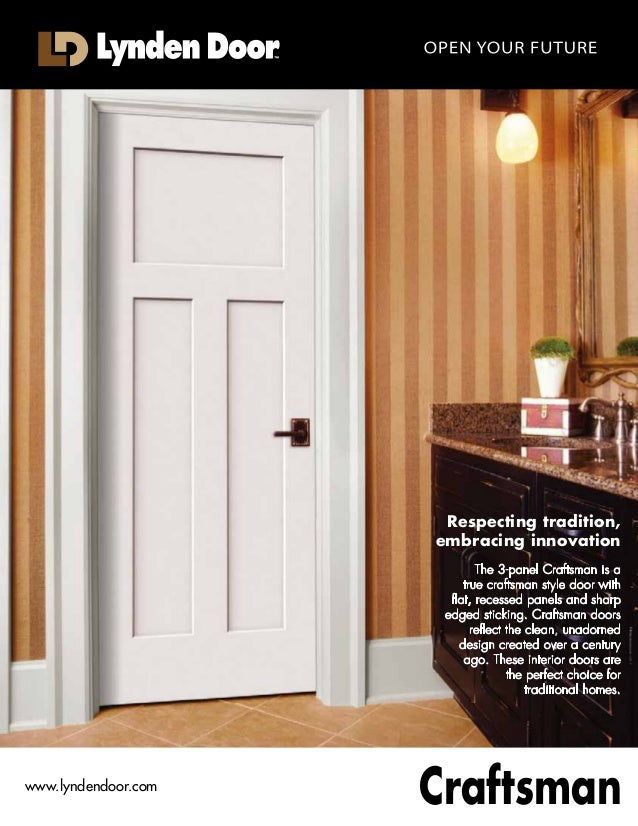 Perfect Raftsman III Respecting Tradition, Embracing Innovation The 3 Panel  Craftsman III Is A True Rediscover Doors ...