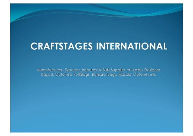 Designer Bags By Craftstages International Private Limited