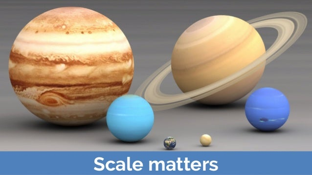 Scale matters