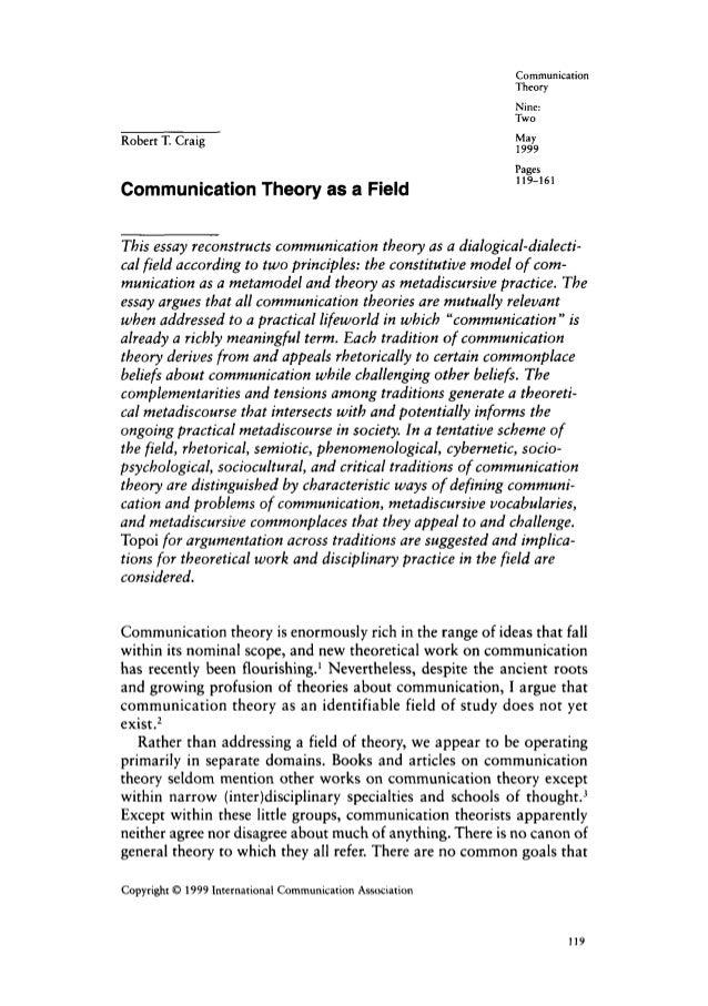 Communication                                                              Theory                                         ...