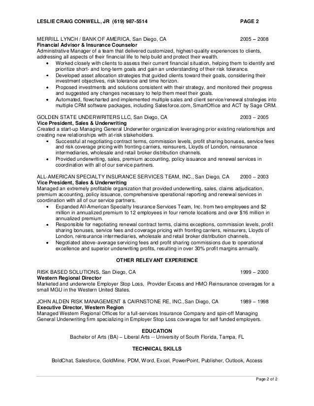 2 - Financial Aid Counselor Resume
