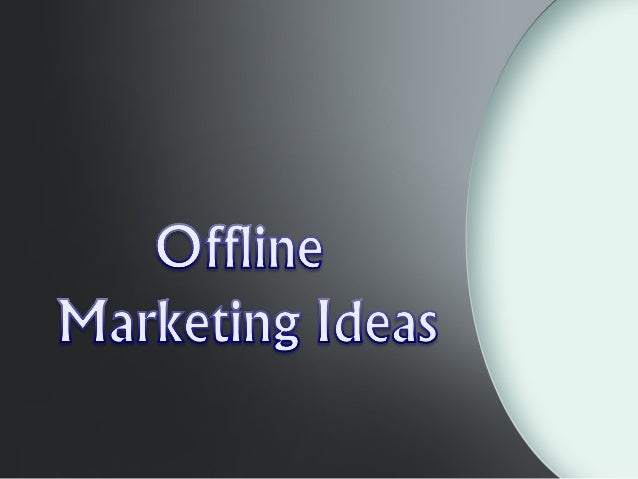 In today's world, online marketing is the best way to reach out to the customer. But there is still some offline or direct...