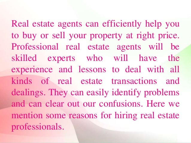 Image result for Importance of real estate agents