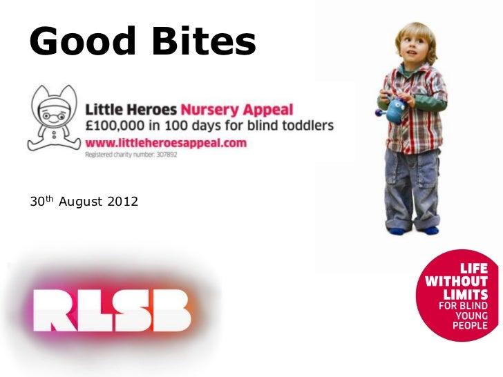 Good Bites30th August 2012