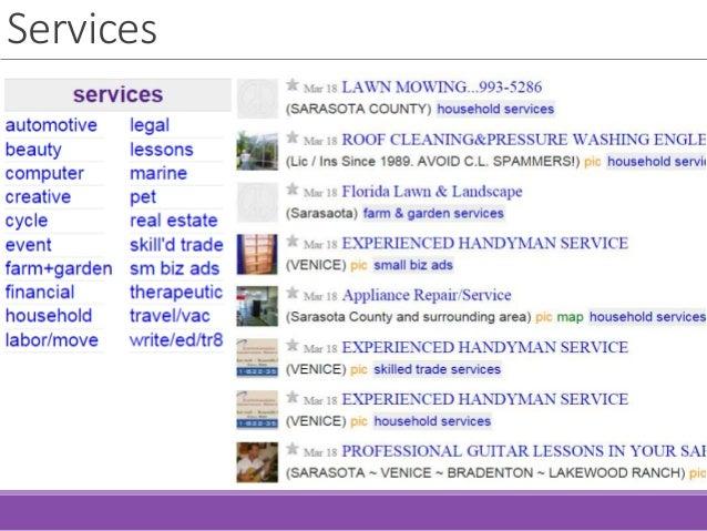 Craigslist Sarasota Bradenton >> Craigslist The Basics