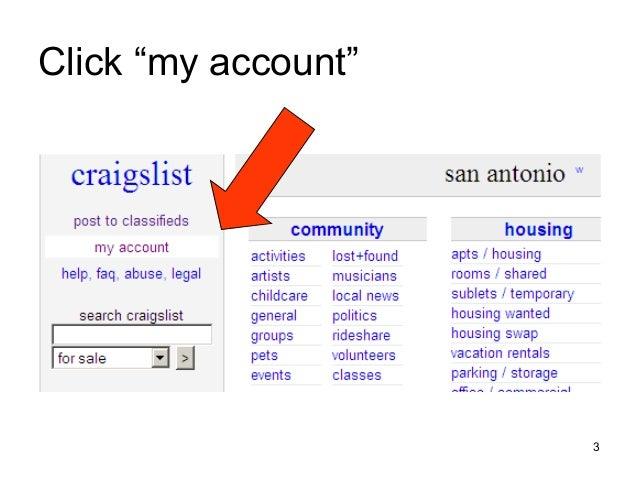 Craigslist basics
