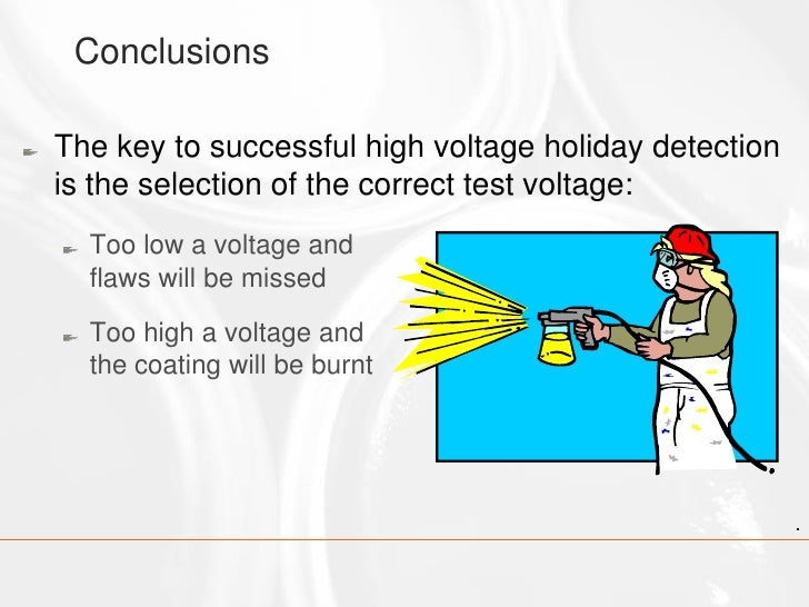 Craig Woolhouse The Use Of Pulsed Dc Holiday Detectors