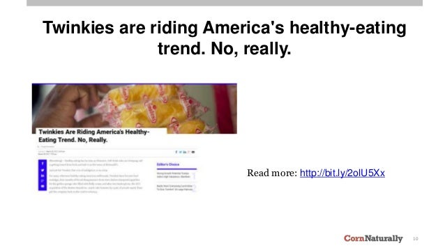 10 Twinkies are riding America's healthy-eating trend. No, really. Read more: http://bit.ly/2olU5Xx