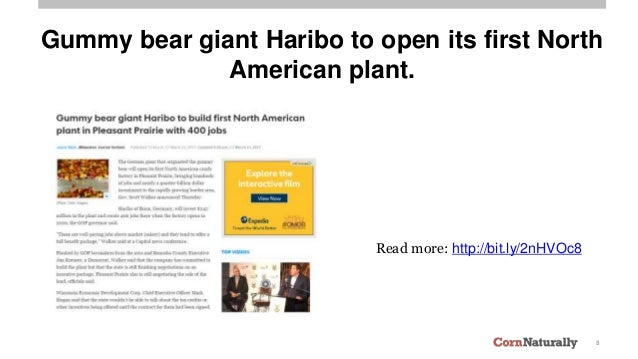 8 Gummy bear giant Haribo to open its first North American plant. Read more: http://bit.ly/2nHVOc8