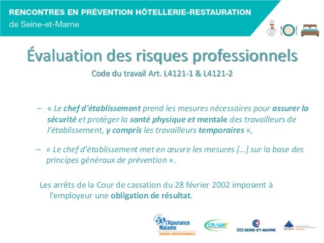 code du travail hotellerie restauration