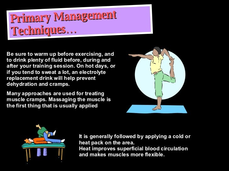 how to help muscle cramps