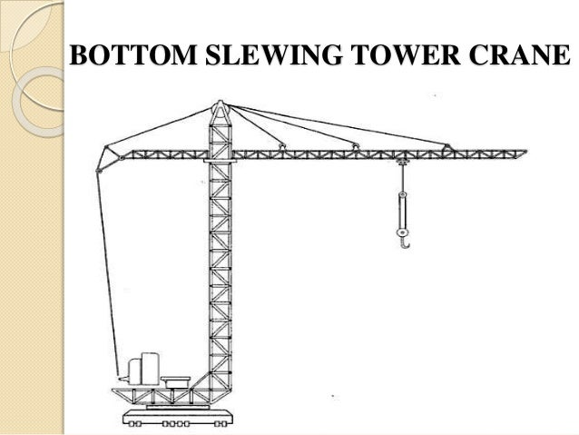 Tower Crane Parts Name : Construction equipment crane hoisting