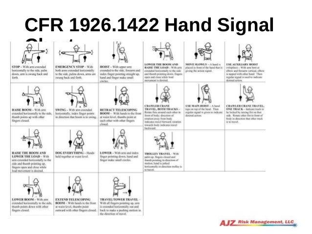 Crane signal-person-training-slides