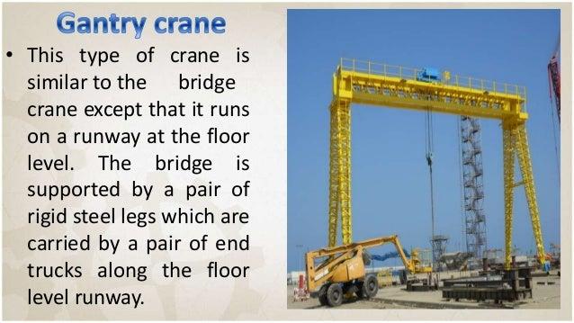 Overhead Crane Load Limiter : Crane
