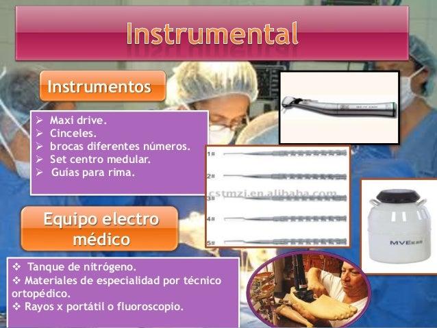 Excéresis Se realiza abordaje anterolateral se expone el tercio del fémur Enclavamiento intramedular acerrojado (Russel – ...