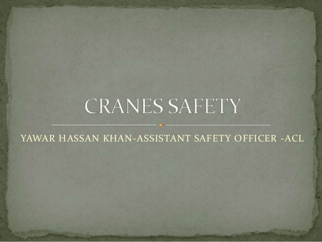 YAWAR HASSAN KHAN-ASSISTANT SAFETY OFFICER -ACL