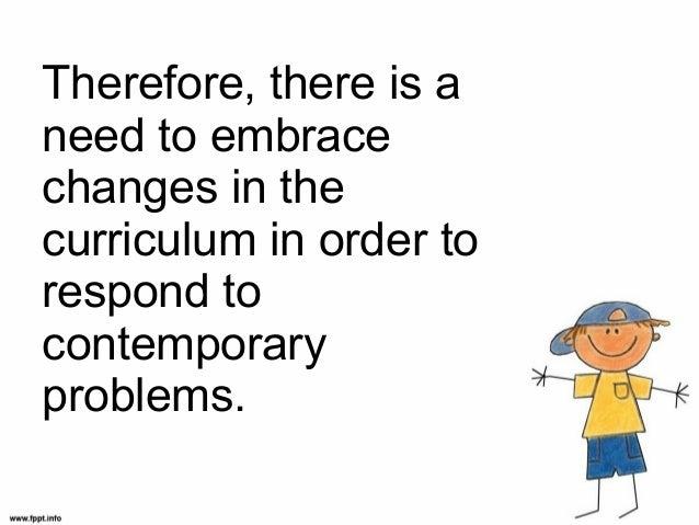 Crarting the curriculum