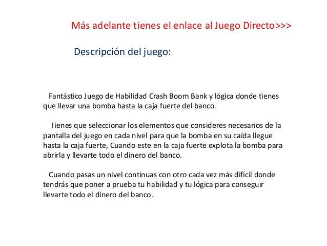 Crash boom bank Slide 3