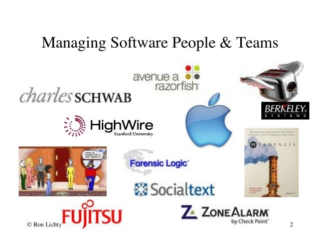Crash course- managing software people and teams Slide 2