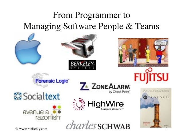Crash Course - Managing Software People and Teams Slide 2