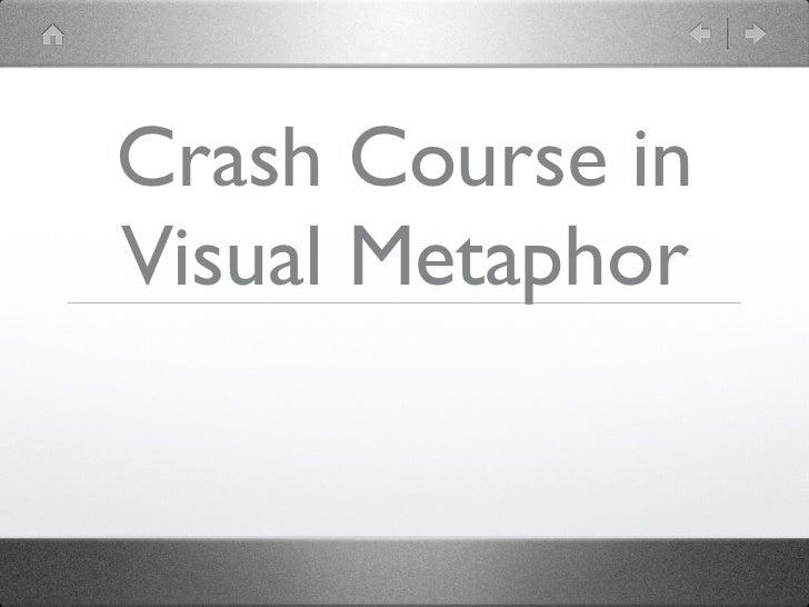 Crash Course inVisual Metaphor