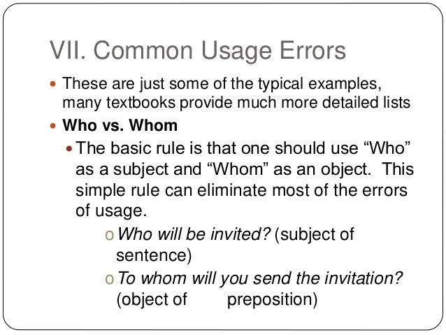 Crash course on grammar and common usage 17 stopboris Image collections