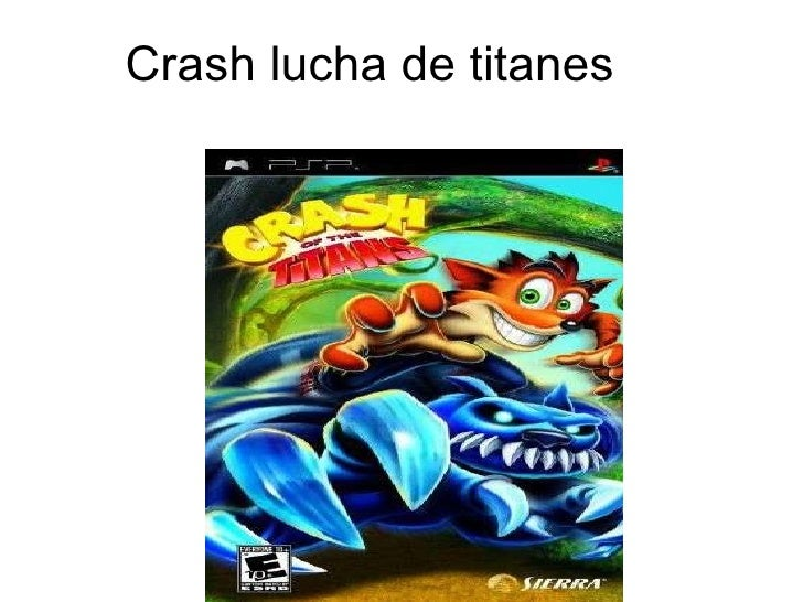 Crash lucha de titanes