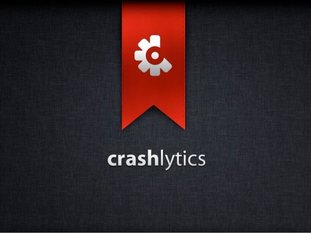 Redis Analytics         @JeffSeibert        CEO, Crashlytics2      CRASHLYTICS CONFIDENTIAL   © 2012. All rights reserved