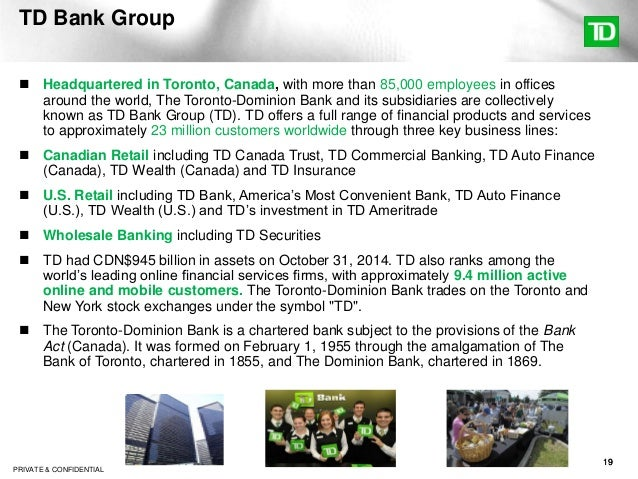 Global supply chain dynamics and the changing risk - Td canada trust toronto head office ...