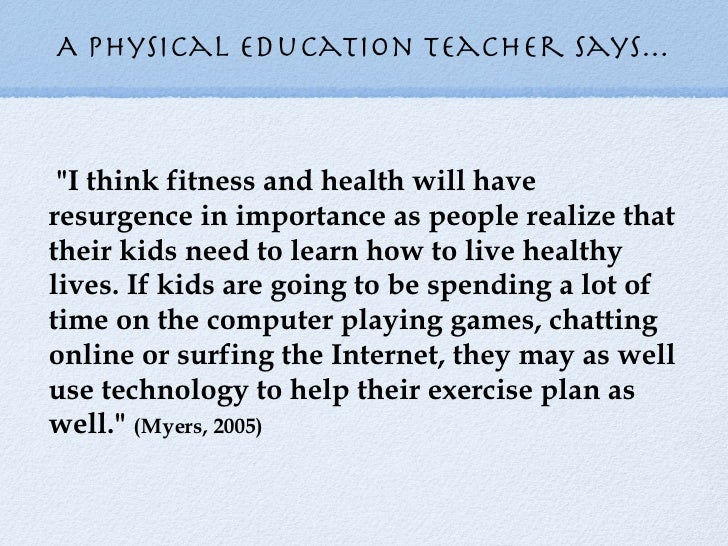why we need to study physical education
